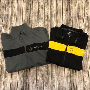 2 Nike Livestrong Drifit Jackets XL Dri-fit